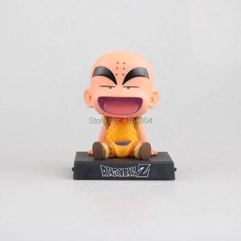 Figura de soporte para móvil de Goku y Krillin de Dragon Ball Figuras Merchandising de Dragon Ball