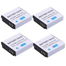 4X1200 мАч IA-BP125A IA BP125A BP125A Перезаряжаемые Камера Батарея для Samsung hmx-qf20, HMX-QF30, HMX-QF300, HMX-M20, HMX-Q10, HMX-Q1