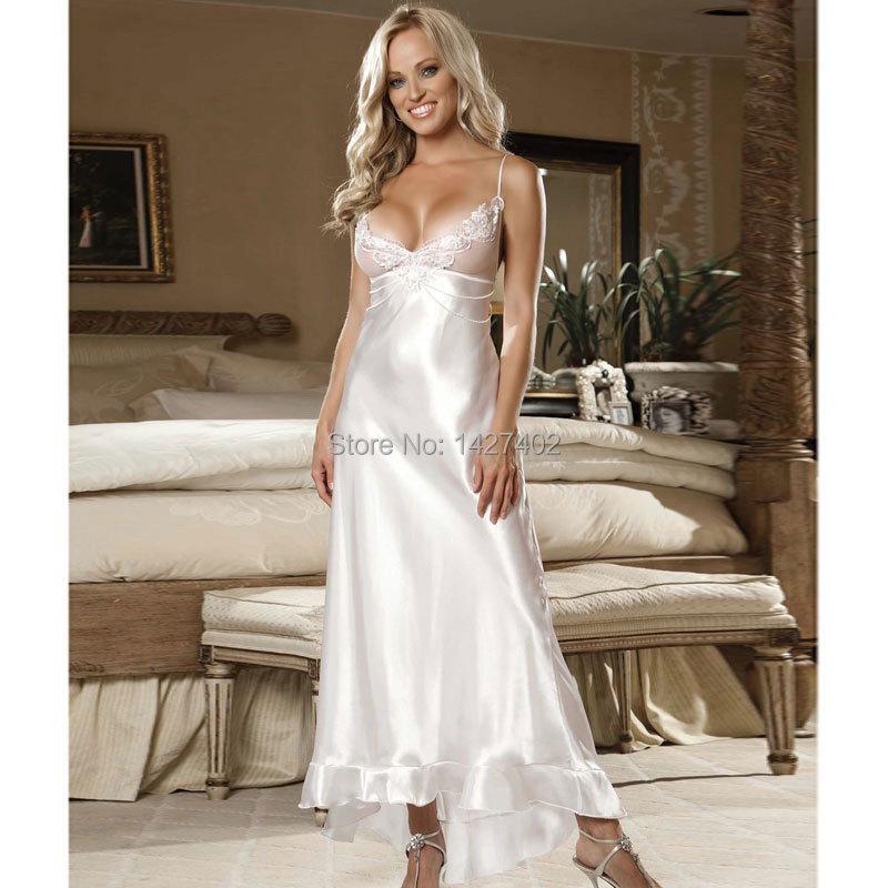 Long Satin Nightgowns – fashion dresses
