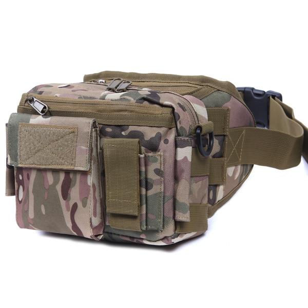 전술 가방 스포츠 가방 군사 팩 Taille Pack Schouder Molle 캠핑 Klimmen Wandelen 주머니 클레스 야외 액세서리