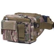 Tactische bag sport tassen Militaire Taille Pack Schouder Molle Camping Klimmen Wandelen Pouch Met Zes Kleur Outdoor Accessoires
