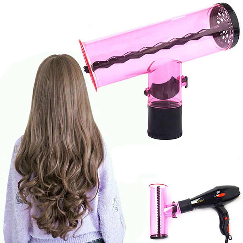 Best Magic Air Curler Hair Dryer Spin Roller Easy Wind Cap Home Salon Supplies QQ99