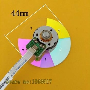 100% новый 5 Segmento проектор Цвет колесо для optoma DX675 DX61 DX774 DX772 DK332 EX779Projector 44 мм