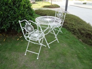 Wrought Iron Tables And Chairs Balcony Living Room Furniture