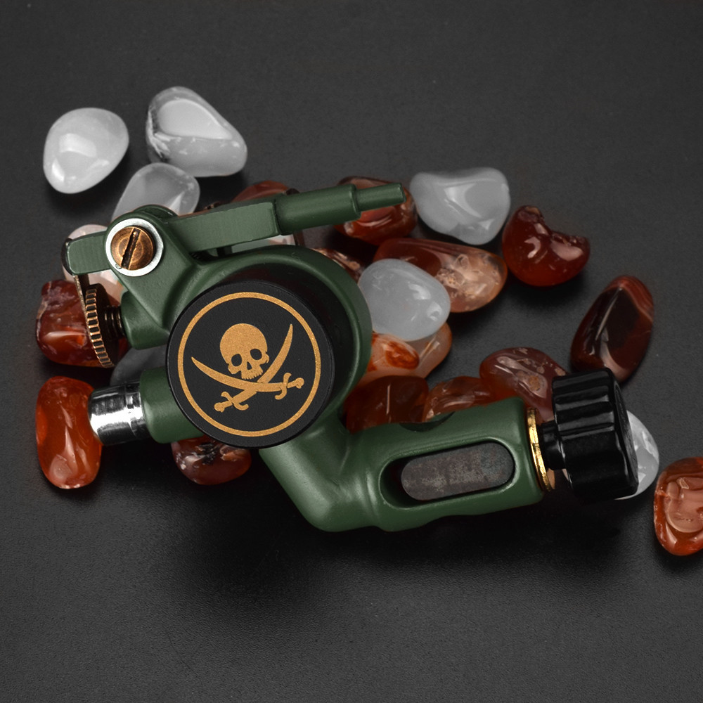 Rotary Tattoo Machine Skull Shader & Liner  Assorted Tatoo Motor Gun 2019 New Arrival Direct Drive Motor For Tattoo Artists