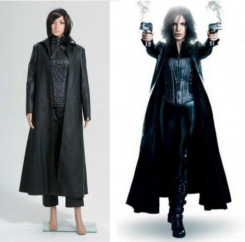 underworld 4 awakening selene costume coat corset jacket