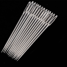 30pcs Stainless Steel Large Eye DIY Sewing Needle Home Stitchery Embroidery Accessories Knitting Yarn Handmade Darning Tools