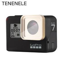 TENENELE filtro de cámara para GoPro Hero 5/6/7, filtro de lente de cristal óptico UV CPL ND 4 8 16 32, conjunto de filtros Hero 2018, accesorios deportivos
