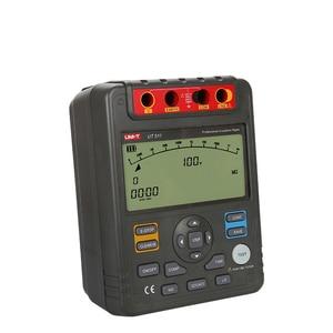 Image 4 - UNI T UT511 1000V 10Gohm Digital Insulation Resistance Testers UT511 Voltmeter Auto Range Megger