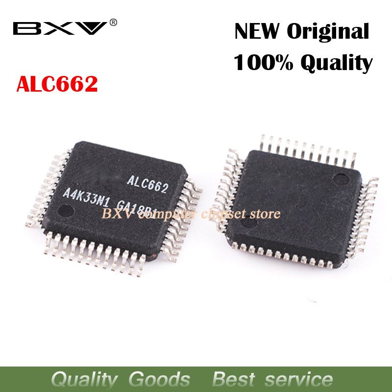 Free Shipping 2pcs/lot ALC662-GR ALC662 QFP Laptop Chip New Original