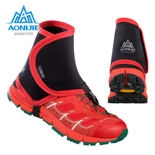 AONIJIE Trail Reflective Gaiters Protective Sandproof Shoe Covers Off-road Running Jogging Hiking Outdoor Unisex