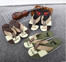 Hombres chanclas casual street style sandals brand male beach comfortable flip flops multi color men's leisure flip flops