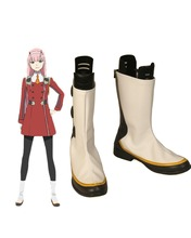 DARLING in the FRANXX CODE 002 Zero Two Cosplay Boots Shoes Custom Made