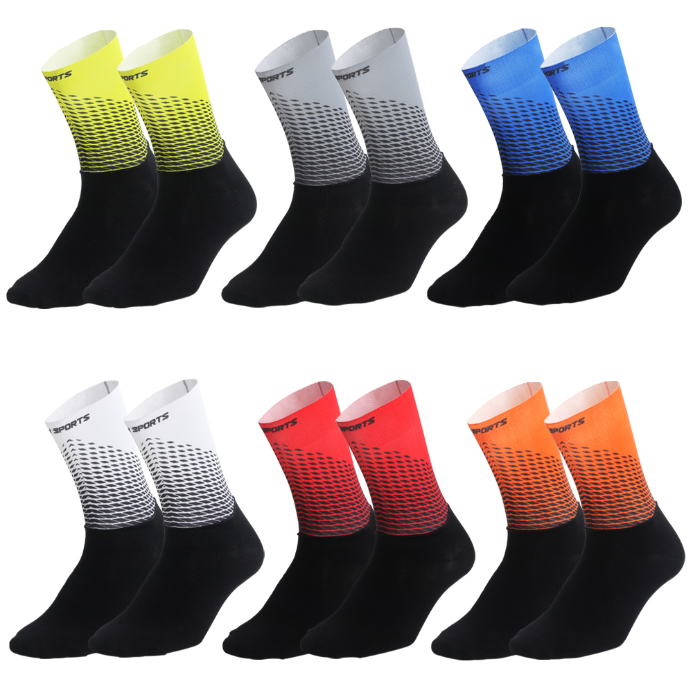 2019 New Cycling Socks Men Women Road Bicycle Socks Outdoor Brand Racing Bike Compression Sport Socks Calcetines Ciclismo