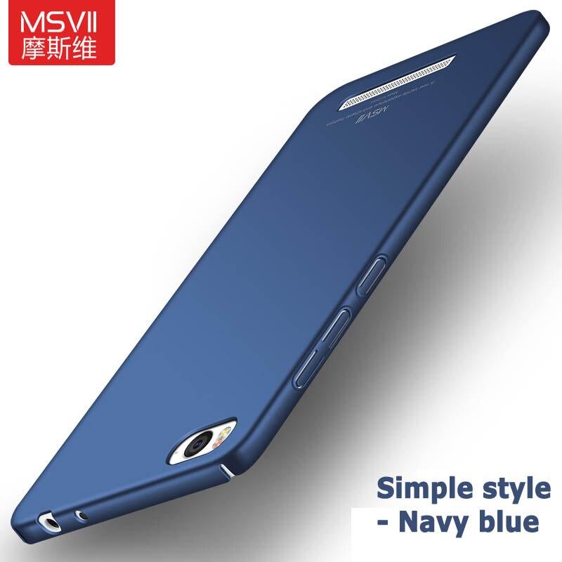 Xiaomi Mi4C Case Cover Msvii Slim Matte Cases For Xiaomi Mi4i Mi 4i Mi4 C Case Xaomi Mi 4C PC Cover For Xiaomi Mi 4 Mi4 M4 Cases