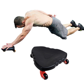 3 Wheeled Abs Roller for Abdominal Exercise to Reduce Unwanted Belly Fat to Achieve Superior Fitness