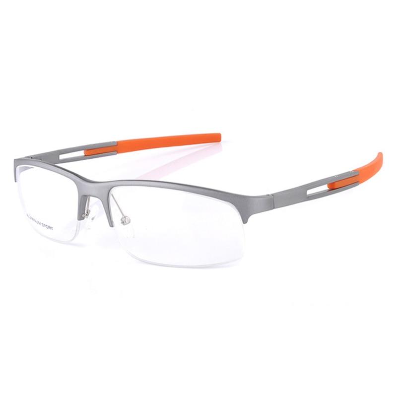 glasses frames for men clear lens glasses eyewear optical myopia  Prescription spectacle frame Metal Half Frame Eyeglasses Male