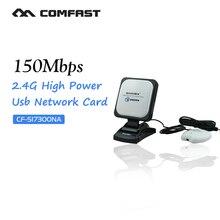 Adaptador usb wifi de alta potencia Sinmax SI-7300NA sky wireless antena 30dbi señal adaptador wifi de largo alcance de alta ganancia