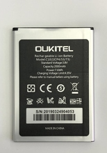 Oukitel C10  Battery 100% Original 2000mAh Backup Battery Replacement For Oukitel C10 Mobile Phone смартфон oukitel c10 pro 8 gb черный
