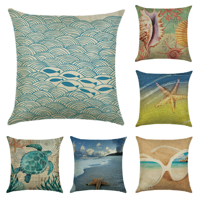 cushions home decor beach design - Home Decor Cushions