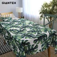 Декоративная скатерть из хлопка, скатерть для кухни, прямоугольные скатерти, покрытие для обеденного стола, обрус Tafelkleed mantel mesa nappe
