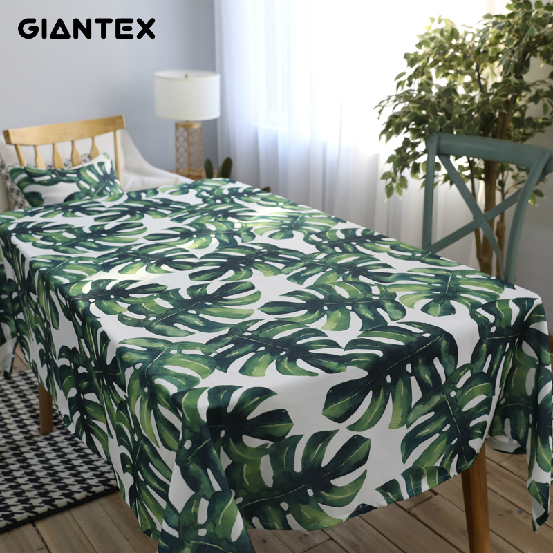 GIANTEX Pastoral Style Decorative Table Cloth Cotton Tablecloth Dining Table Cover For Kitchen Home Decor U1256