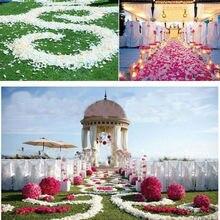 1000 pcs Silk Rose Petals Wedding Party Celebration Decoration Flower 9 Colors