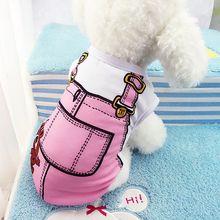 Cute Puppy Vest Shirts Pet Dog Clothes