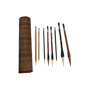 Image 4 - Traditional Chinese Painting Brush Set Soft Woolen Hair Chinese Calligraphy Brushes Ink Painting Hook Line Pen Painting Supplies