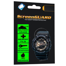 Multifunctional Military Grade Anti-Shock Film for Casio Watch G-Shock Analogue Digital Chronograph Sports Tactical Stopwatch military grade anti shock film for casio watch g shock analogue digital quartz led alarm sports movement casual wrist watch