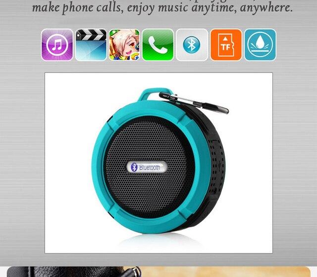 Professional Portable Mini Wireless Waterproof Shower Bluetooth