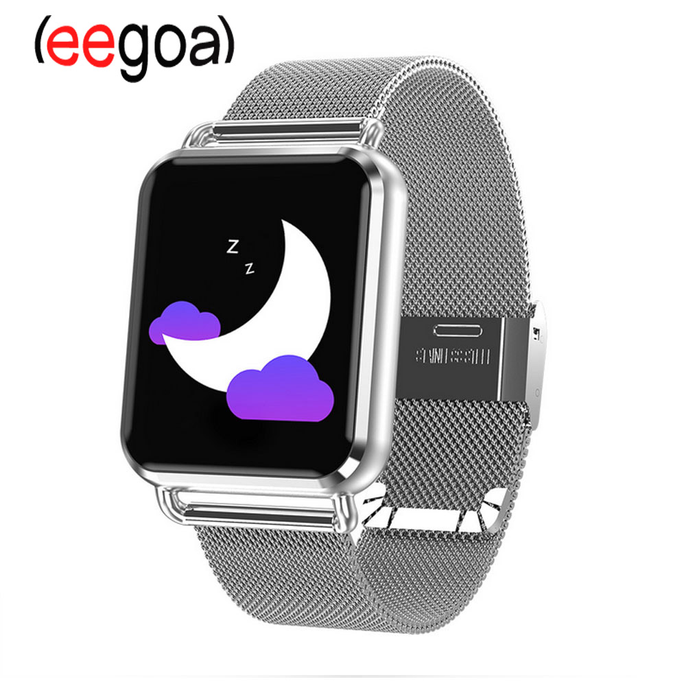 Q3 Bracelet femmes intelligentes avec des femmes Bracelet de rappel de sommeil physiologique montre de moniteur de pression artérielle pour IOS Android