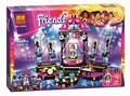 448pcs SY380 10406 Friends series Pop Star Show Stage Livi Andrea Building Kit blocks bricks Girls toys Compatible With Legoe