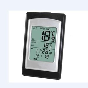 Image 4 - Draadloze Zwembad Thermometer Waterdicht Solar Power Zwemmen Spa Vijver Bad Bad Digitale Lcd Drijvende Water Temperatuur Meter  40C ~ 60C