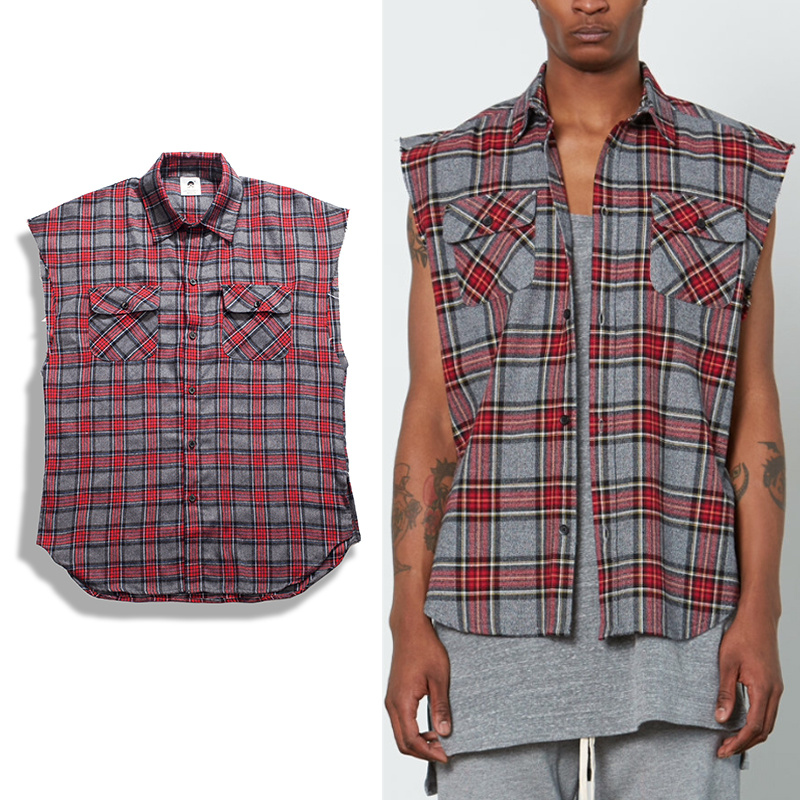 Popular mens red plaid flannel shirt buy cheap mens red for Where to buy cheap plaid shirts