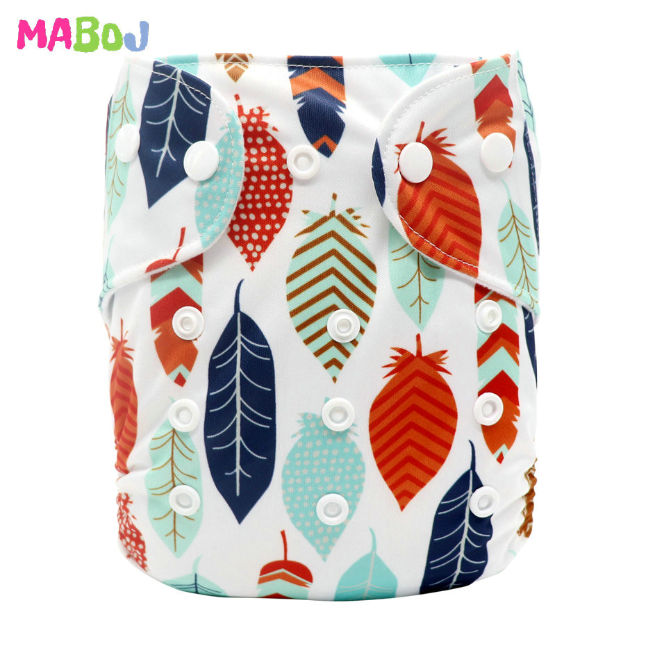 MABOJ Diaper Baby Pocket Diaper Washable Cloth Diapers Reusable Nappies Cover Newborn Waterproof Girl Boy Bebe Nappy Wholesale - Цвет: PD5-5-29