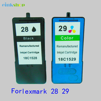 2PC Einkshop For Lexmark 28 29 Ink Cartridge For Lexmark28 29 For Lexmark X5070 X5075 X5320