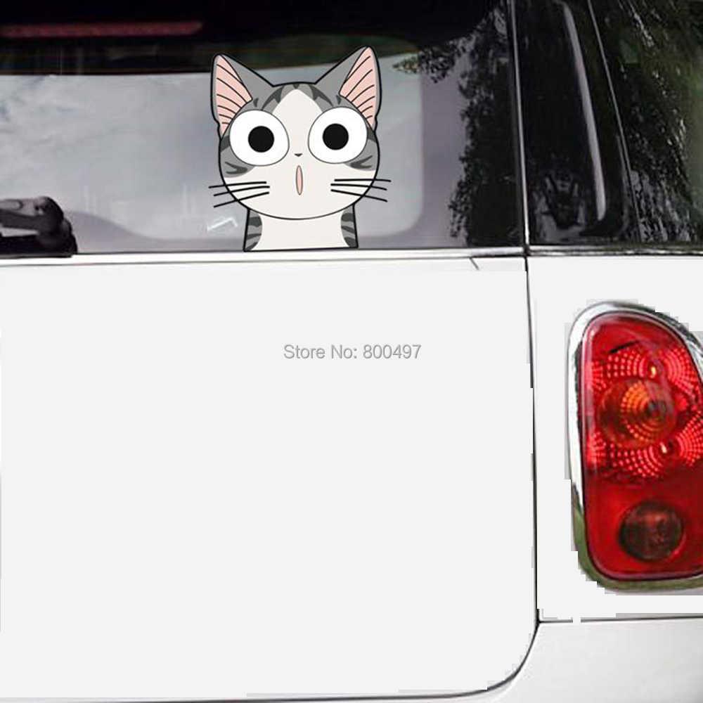Mới nhất Đáng Yêu Dễ Thương Cat Chí Sweet Home Dán Xe Ô Tô bao gồm Đề Can Xe đối với Toyota Honda Chevrolet Volkswagen Tesla BMW Lada