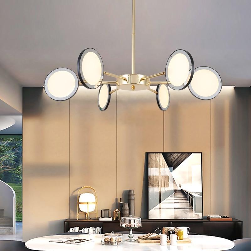 New Modern LED Pendant Lights For Living Room Bedroom Platiing Gold Pendant Lamp Loft Decor Lighting For Hotel Lobby Luminarias цена и фото