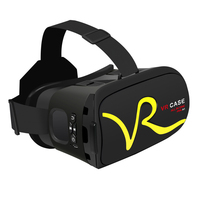RK A1 VR CASE Box Virtual Reality 3D VR Glasses Cardboard for Xiaomi Samsung S6 S5 S4 iPhone 5 6S plus 4.0 6 inches Smartphone