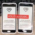 5D закаленное Стекло для ASUS Zenfone 4 Max ZC554KL (100% покрытие) Экран протектор Защитная пленка полный клей 5,5 дюймов черный - фото