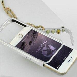 Image 1 - Funda de aluminio para iPhone 7, 8 Plus, iPhone x, xs, max, edición táctica