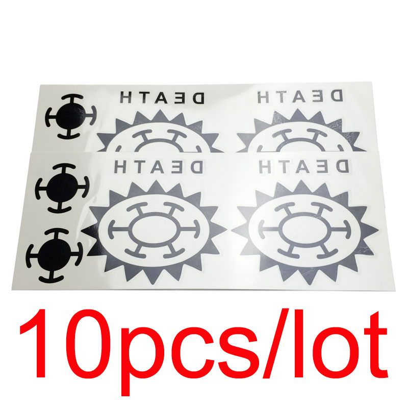 10Pcs/lot Anime One Piece Trafalgar Law Cosplay Tattoo Trafalgar D Water Law Logo Sticker Tatoos for Men Women
