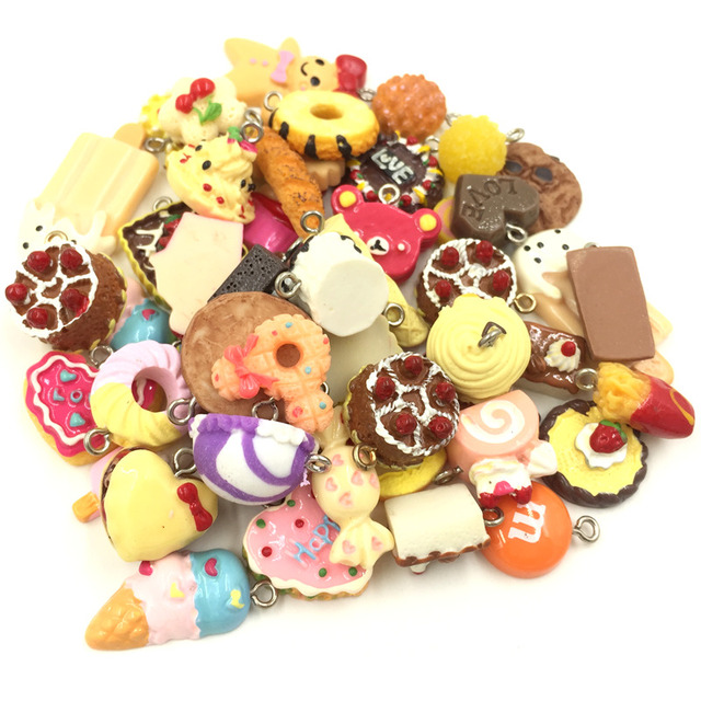 60pcs mixed colorful bread cake biscuits ice cream acrylic pendants 60pcs mixed colorful bread cake biscuits ice cream acrylic pendants charms jewelry findings mozeypictures Choice Image