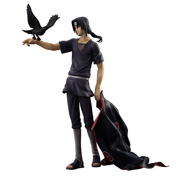 Naruto Shippuden Uchiha Itachi PVC Action Figure Collectible Model Toy Doll 27cm KT1322 pu short wallet w colorful printing of naruto shippuden uchiha itachi