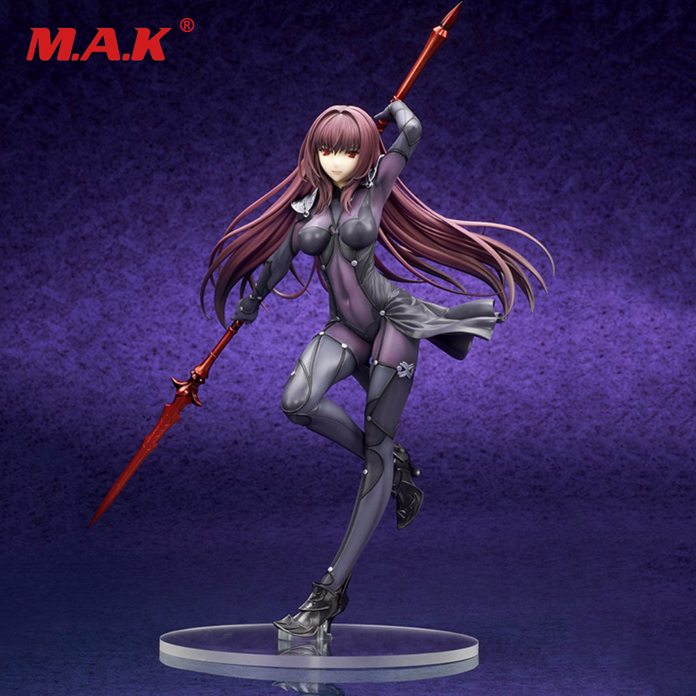 kids toy Japan Anime Fate Stay Night Grand Order Lancer PVC Action Figure Collections Model Toys Brinquedos anime plum fate grand order lancer pvc action figure collectible model doll toy 31cm new hot