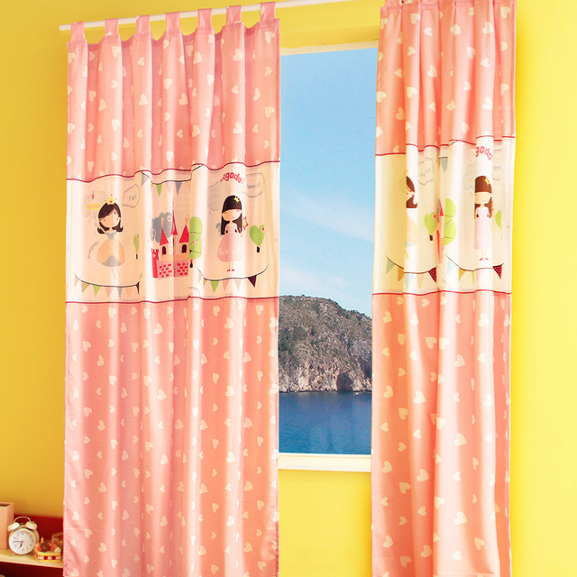S V Hot High Quality Child Princess Girl Roman Blinds Rustic Pink