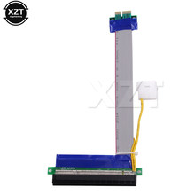 18cm 1X to 16X PCIe Flexible Flat Extension FFC PCI Express 1 to 16 X Adapter Riser Card Adapter PCI-E Extender Cable NEW(China)