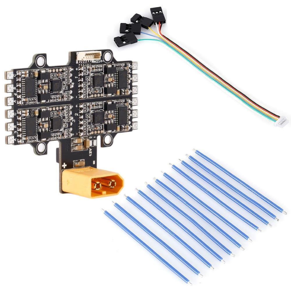 New 4 IN 1 30A ESC Electronic Speed Conts