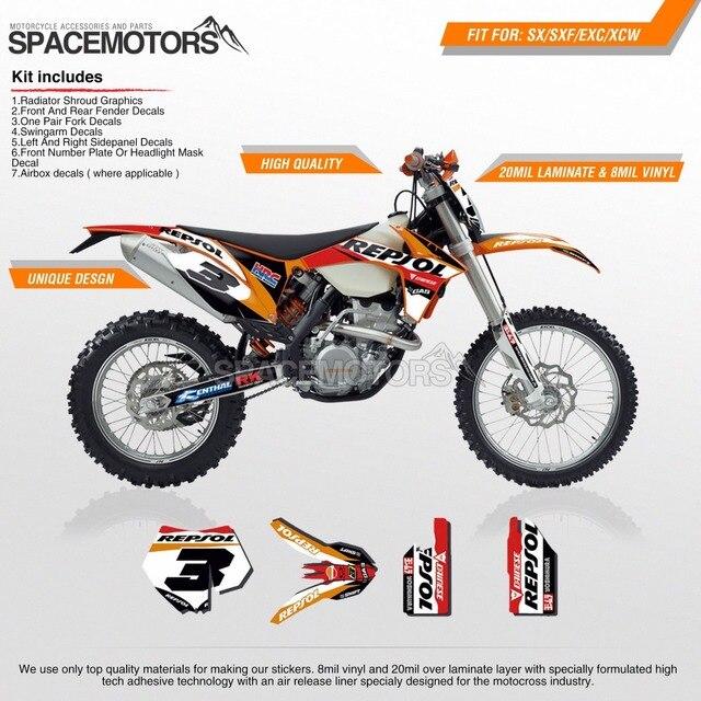 MX Vinyl M Wrap Skin Sticker Decal Graphics Kit For Motorcycle - Motorcycle decal graphics